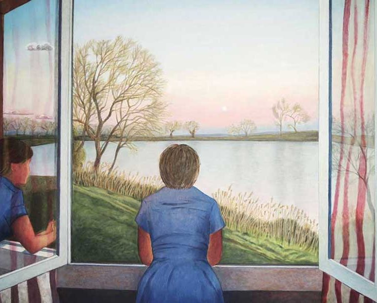 Peintures à l'huile – Fenêtres