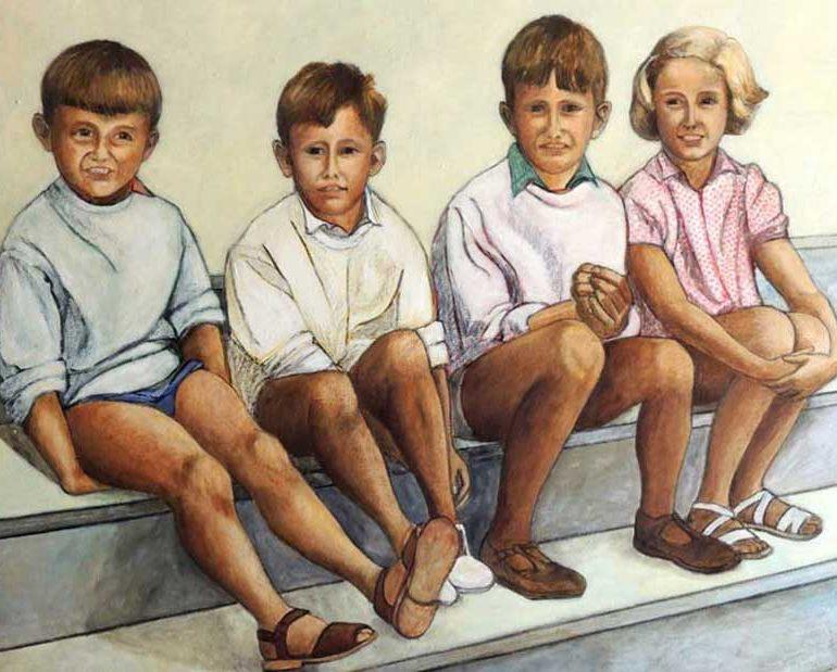 Peintures à l'huile – Figures
