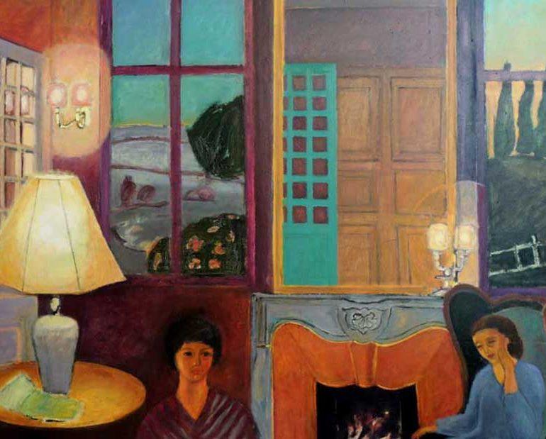 Peintures à l'huile – Scènes d'intérieur
